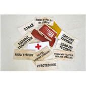 Páska rukávová - různé označení