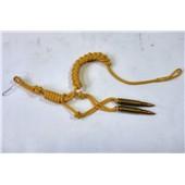 Šňůra dozorčího útvaru - žlutá