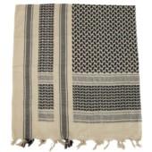 Šátek Palestina béžovo-černá