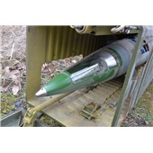 Maketa raketa 9M33M3U řez