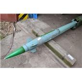 Maketa raketa 9M33M3U školní