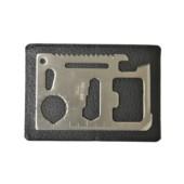 Multifunkční nástrojová karta nerez ocel + 1 zdarma