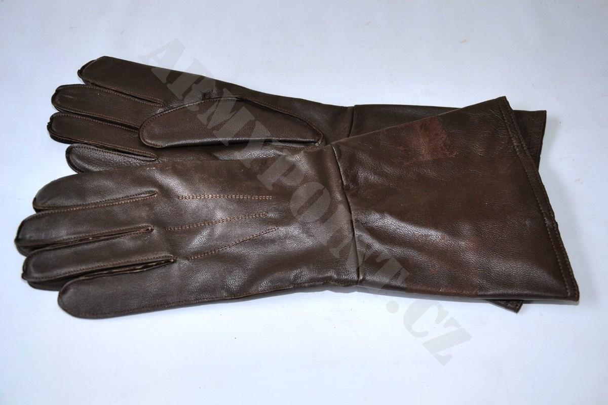 Rukavice kožené výsadkářské  c99bf16369