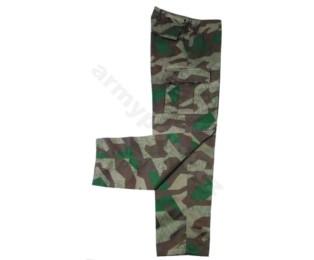US BDU bojové kalhoty splintertarn