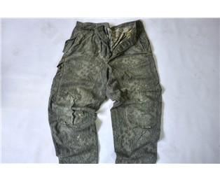 """Kalhoty vzor 60 """"jehličí"""" - použité"""
