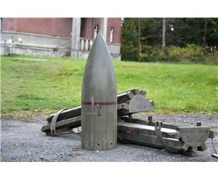 Maketa hlavice letecké miny MARS 250PB