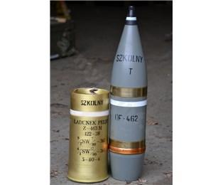 Maketa Nb 122mm HB-38 OF školní
