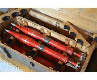 Maketa 73mm PG-9/15V poškozená