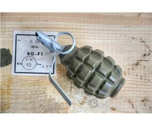 Maketa obranný granát RG-F1