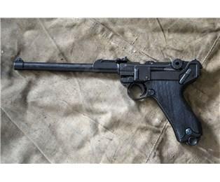 Replika pistole Luger P08 dělostřelecký