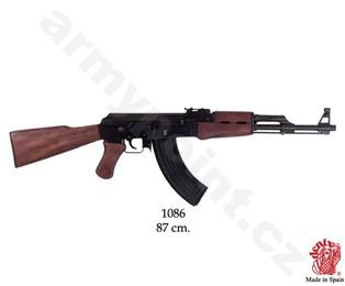 Replika samopalu AK-47 Kalašnikov pevná pažba