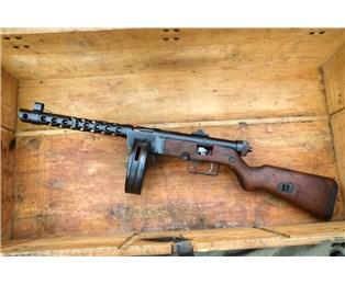 Samopal M49/57 řez zbraně