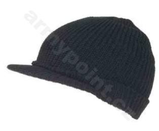 US JEEP zimní čepice černá