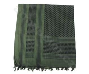 Šátek Palestina černo-zelená