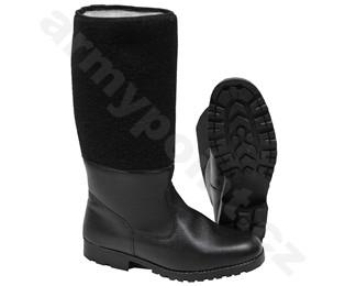 Tankistické boty vysoké s filcem