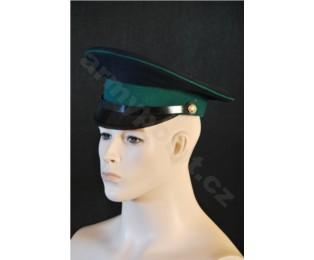 Sovětská důstojnická čepice - BRIGADÝRKA - Vojenská bezpečnost