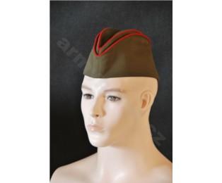Sovětská vojenská důstojnická čepice - LODIČKA (pilotka)