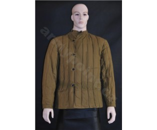 Sovětská vojenská zimní bunda vatovaná - Tělogrejka