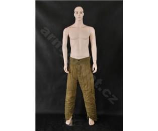 Sovětské vojenské zimní kalhoty vatované - Tělogrejky