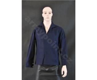 Košile námořnická - modrá teplá