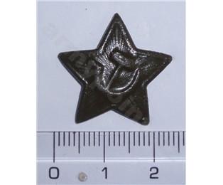 Odznak polní hvězda  maskovací barvy  malá 24mm