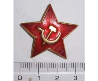 Odznak - červený hvězda