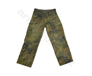 BW kalhoty Flecktarn