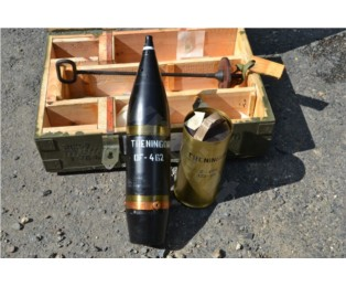 Maketa Nb 122mm HB-38 OF tréningový