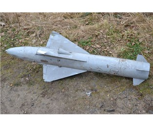 Maketa tělo rakety RS-2US školní ( kód NATO AA-1 Alkali )