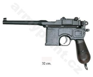 Replika pistole Mauser 1898