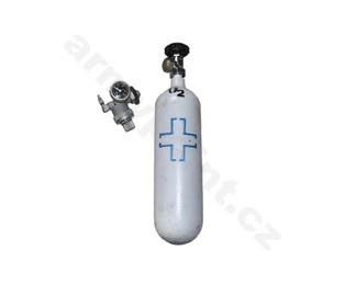 Tlaková láhev s redukčním ventilem 2L