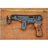 """Samopal vzor 61 """"škorpion"""" řez zbraně"""