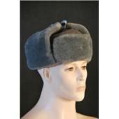 Sovětská zimní vojenská čepice - BERANICE - šedá
