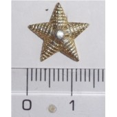 Odznak Zlatá hvězda malá 14mm