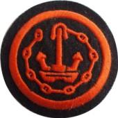 Nažehlovací symbol příslušnosti - Oddíl všeobecných služeb Nám. Pěchoty (kulatá)