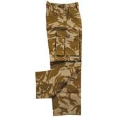 Britské polní kalhoty rip stop DPM desert mírně použité