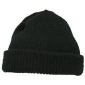 Čepice zimní CZ/SK, zelená, mírně použitá