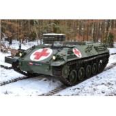 Obrněný transportér SAURER 4K 4FA - zdravotnický