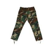 US BDU kalhoty, Rip Stop, woodland