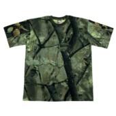 US tričko hunter - green