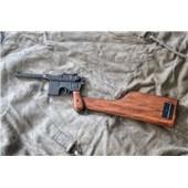 Replika pistole Mauser C96 včetně pažby s pouzdrem