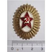 Odznak důstojnický s červenou hvězda - kokarda -