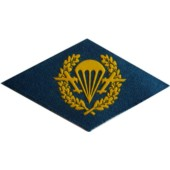 Nášivka symbol příslušnosti na hruď - Výsadkaři MODRÉ
