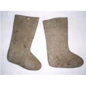 Sovětské vojenské vysoké boty zimní - VÁLENKY