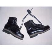 Sovětské vojenské boty výsadkářské - kožené